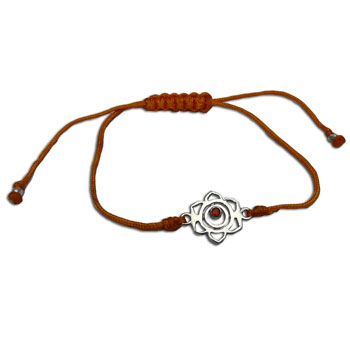 Sakralchakra Armband Orange